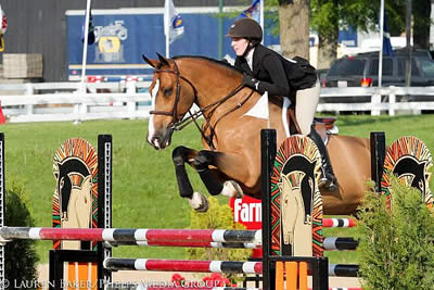 Kelli Cruciotti Wins Platinum Performance USEF Talent Search 2* at Kentucky Summer Horse Show