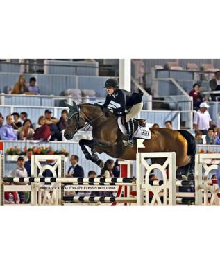 Patience Proves Perfect for Kelli Cruciotti and Zidante in Junior Jumpers