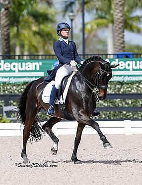Devon Kane Heads down Centerline in Europe with Grant from USEF