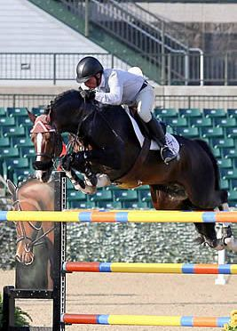 Todd Minikus and Con Capilot Capture Kentucky Spring Horse Show 1.45m Open Jumper Victory