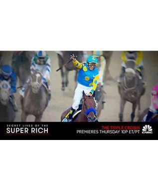 """""""Secret Lives of the Super Rich: The Triple Crown"""" at 10p ET/PT June 4, 2015"""