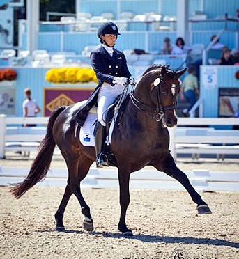 Allison Brock Named as Traveling Reserve for U.S. Pan American Games Dressage Team