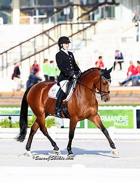 American Para-Dressage Riders Successful in Freestyle Competition in Mulhouse CPEDI3*