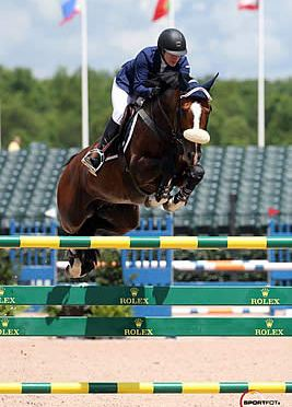 Christine McCrea and Wannick WH Top $25,000 Tryon Grand Prix
