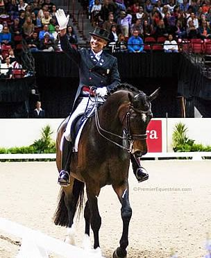 United States Premier Equestrians Make Top Ten in FEI World Individual Dressage Rankings