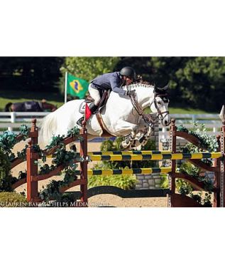 Wilton Porter and Patriot Win $5,000 1.40m Open Jumpers at Kentucky Summer Horse Show