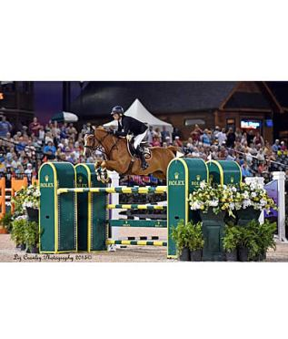Schuyler Riley Impresses Again in $127k Grand Prix CSI 3* aboard Q-7 at in Tryon