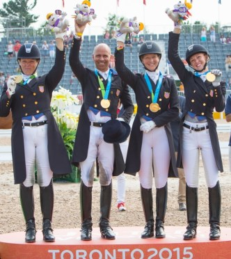 Pan American Team Gold Clinches Olympic Berth for U.S. Dressage