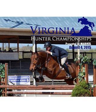 Virginia Hunter Championships Debut August 4 at Virginia Horse Center
