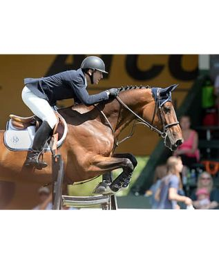 McLain Ward and HH Azur Clear 3 Rounds to Win $400k ATCO Power Queen Elizabeth II Cup