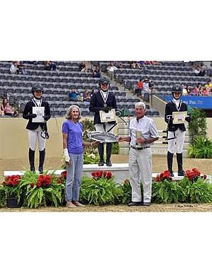 McDougald Earns 2015 Individual Championship at US National Pony Jumper Championships