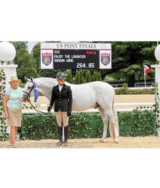 Enjoy the Laughter and With Applause Kick Off Opening Day of 2015 USEF Pony Finals