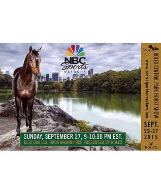 Watch the $212,000 U.S. Open CSI 3* Grand Prix on NBC Sports Network on Sunday, Sept. 27