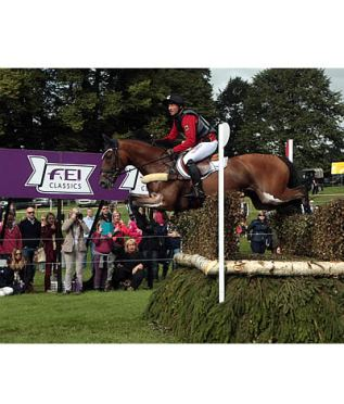 Jung Bounces Back to Lead with Sam at Burghley
