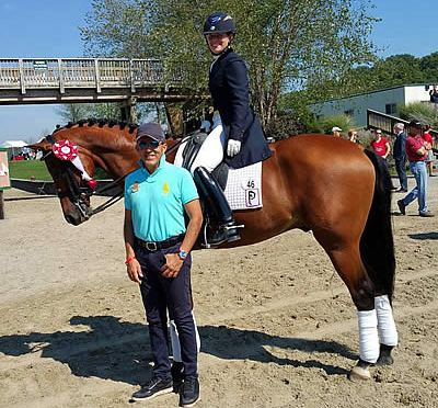 Piaffe Performance Excels in the U25 and Small Tour at 2015 NEDA Fall Festival