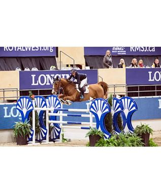 Day Seven at Royal West Features Dramatic Jump-Off Win for Erynn Ballard
