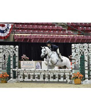 Sophie Gochman Awarded Grand Pony Hunter Championship aboard Love Me Tender