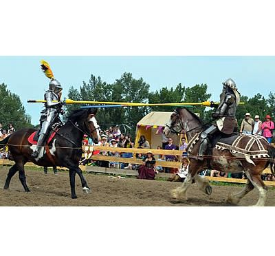 Joust in Time for Royal West