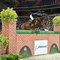 Jessica Springsteen and Lisona won the 2014 The Boeing Company Puissance