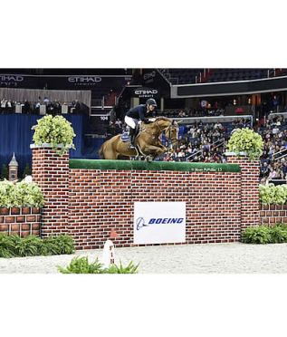 Jos Verlooy and Sunshine Victorious in $25,000 The Boeing Company Puissance at WIHS