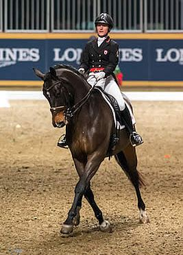 Belinda Trussell Tops $20,000 Invitational Dressage Cup at 2015 Royal Horse Show