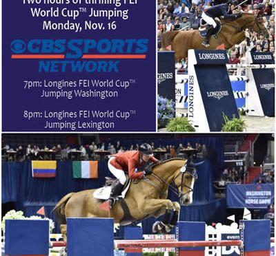 CBS Sports Network to Air WIHS and NHS on Monday, Nov. 16 at 7 pm EST
