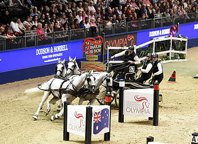 Ijsbrand Chardon Back in the Driving Seat at Olympia