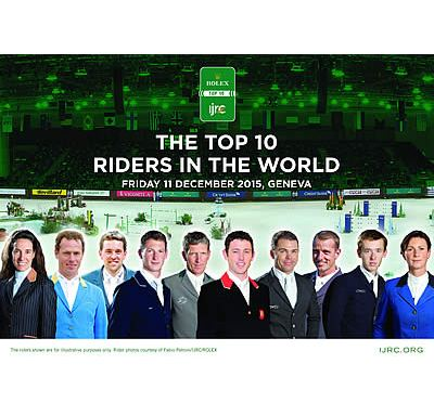 The World's Finest Riders Gather for End of Season Finale – Rolex IJRC Top 10 Final 2015