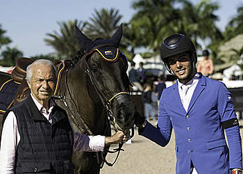 Emanuel Andrade Opens Winter Equestrian Festival with a Win