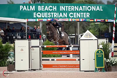 Laura Chapot and Shooting Star Top $6,000 Illustrated Properties 1.40m Speed Challenge