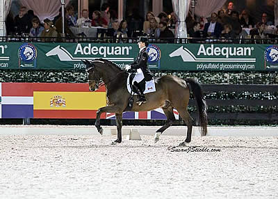 Trussell Makes It Two Victories in a Row aboard Anton with Win in AGDF 3 FEI Grand Prix Freestyle