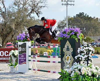 Hermès US Show Jumping Team Wins Furusiyya FEI Nations Cup Jumping at CSIO4* Ocala
