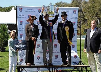 Weber Wins 13th USEF Four-in-Hand Driving National Championship at Live Oak International