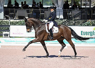 Tinne Vilhelmson-Silfven and Don Auriello Secure Win in FEI Grand Prix CDI-W at AGDF 7