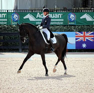 Bateson-Chandler and Alcazar Brave the Heat, Dance to Victory in CDI3* Grand Prix Freestyle