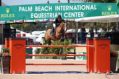 Margie Engle and Abunola Top $35,000 Ruby et Violette WEF Challenge Cup Round 10
