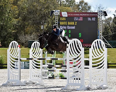 Haley Gassel Brings Home the Blue in the Ocala Week VIII $25,000 SmartPak Grand Prix