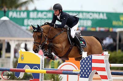 Darragh Kenny and Red Star d'Argent Win $35k Ruby et Violette WEF Challenge Cup Round 11