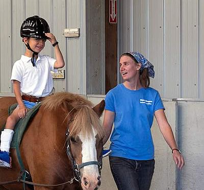 What's My Favorite Time of the Week? Equine Assisted Therapy at Mane Stream