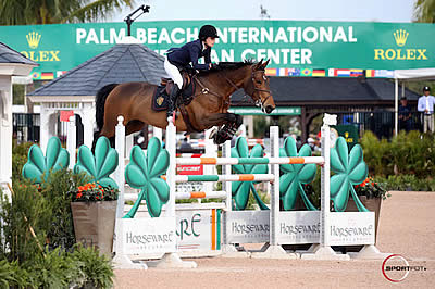 Jessica Springsteen and Davendy S Win $35,000 Illustrated Properties 1.45m Classic at WEF 10