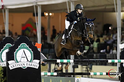 Kaely Tomeu and Gentille Win $25,000 Artisan Farms Under 25 Grand Prix Semi-Final