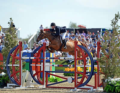 McLain Ward and Rothchild Take Home the Blue in the AIG $1 Million Grand Prix