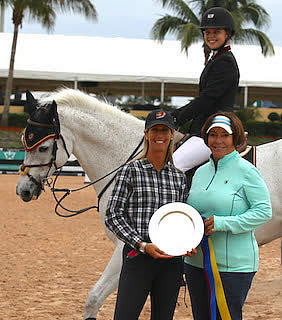 Phoebe Alwine Named Equis Boutique Children's Jumper 15-17 Circuit Champion at WEF