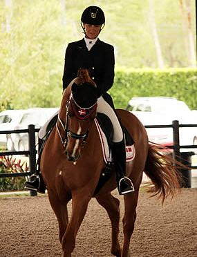 Danish Nations Cup Rider Wins Piaffe Performance Adult Amateur Achievement Award at AGDF