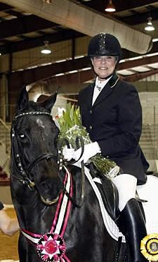 Wanda Wiggins Inducted into The Dressage Foundation's Century Club