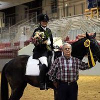 Wanda with her husband Dennis. Photo: Teri Rehkopf/HorsesintheSouth.com