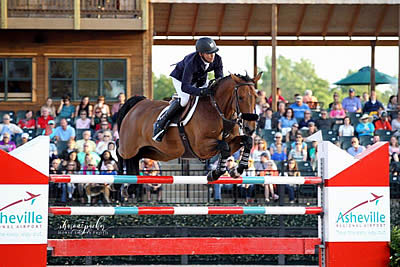 Farrington and Gazelle Take Back to Back FEI Wins at $130k Asheville Regional Airport Grand Prix CSI 3*