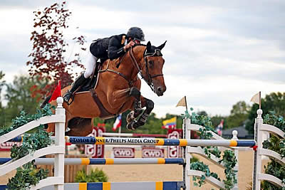Eugenio Garza and Bariano Win $130k Hollow Creek Farm Grand Prix CSI3* at Kentucky Spring
