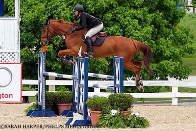 Holloway Wins Med. Jr. Jumpers and WIHS Equitation Hunter Phase at Kentucky Spring Classic