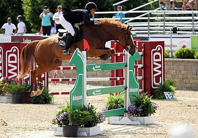 Friendship Helps Put Lisa Goldman and Morocco on Top in $30k Marshall & Sterling Grand Prix